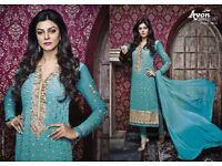 Indian Asian suits and dresses best reasonable prices pure georgette fabrics ... grab it
