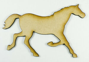 MDF-Wood-Wooden-Shape-Shapes-Horse-Cutout-for-Craft-Home-Room-Decor-Kids