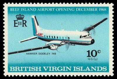 """VIRGIN ISLANDS 195 (SG229) - Beef Island Airport """"Hawker Siddeley 748"""" (pa64845)"""