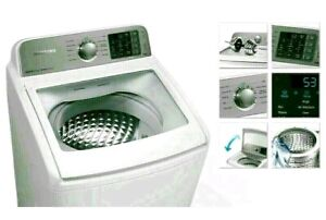 As New SAMSUNG HEAVY DUTY TOP LOADER WASHING MACHINE FRONT LOADER
