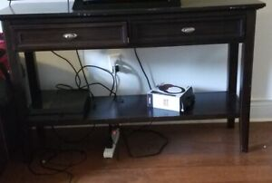 TV CONSOLE TABLE $50.00