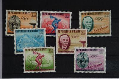 B2 Haiti 629-635 postfrisch