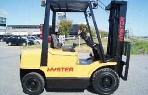2004 Chariot élévateur DIESEL Forklift, Hyster H50XM