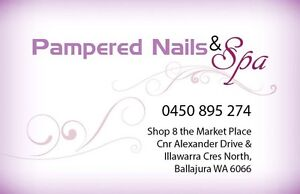 Pampered NAILS & spa. Ballajura Swan Area Preview