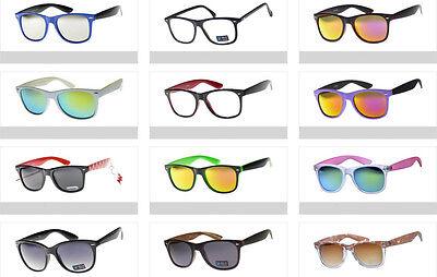 Bulk Pack Wayfarer Sunglasses Vintage Classic 80's Retro Shades (Wayfarer Sunglasses Bulk)