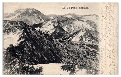 1907 Lo Lo Peak, MT Postcard