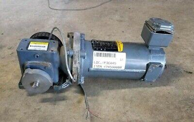 Baldor Electric Motor W Right Angle Gear Reducer Cdp3320 Boston Gear 401 13hp