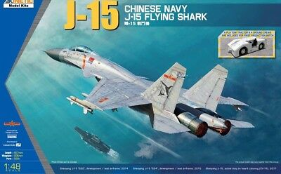 KINETIC 48065 China Navy J-15 Flying Shark in 1:48