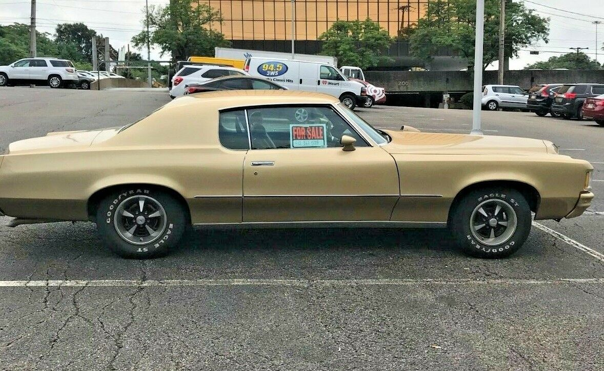 1972 Pontiac Grand Prix  1972 Pontiac Grand Prix Gold engine rebuilt in 2002 - make an offer