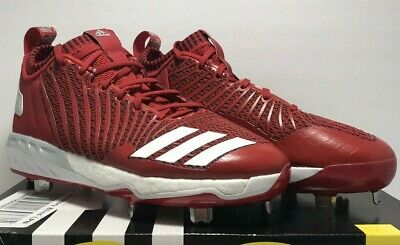 709b39dff Adidas Mens Size 11.5 Energy Boost Icon 3 Metal Baseball Cleats Power Red