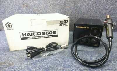 Hakko 850 Hot Air Rework System Wbox Tested Working Good Fs