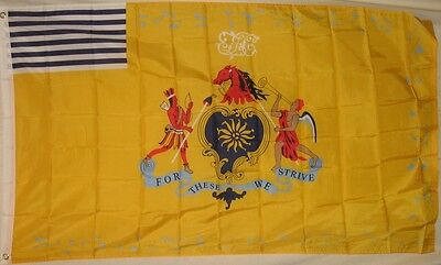 Philadelphia Light Horse Company Flag 3x5 ft First Troop City Cavalry - Party City Flags
