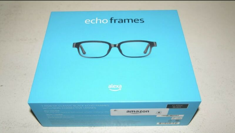*Brand New* Amazon Echo Frames 2nd Gen Smart Glasses Open-ear Audio & Alexa