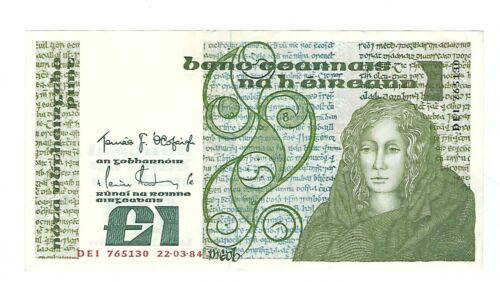 Ireland - One (1) Pound, 1984