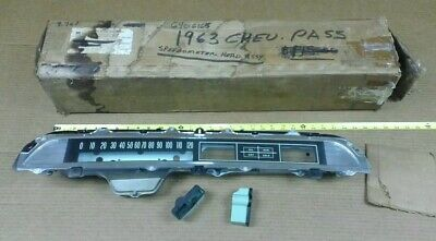 NOS GM 1963 Chevrolet Impala Bel Air Biscayne speedometer dash housing cluster