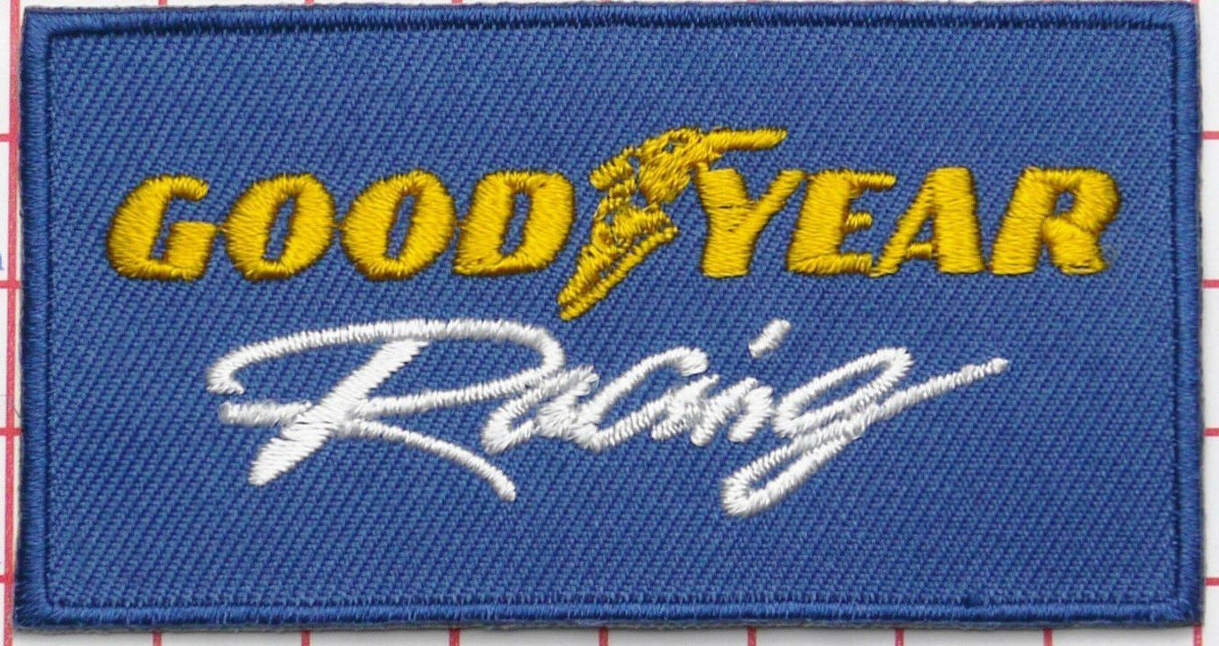 GOODYEAR RACING  -- Embroidered Cloth Patch --   D030806