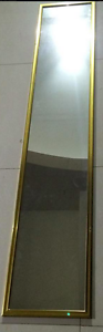 FULL BODY LENGTH MIRRORS- BEAUTIFUL GOLD FRAME Strathfield Strathfield Area Preview