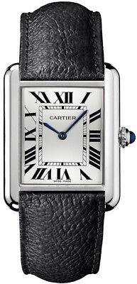 WSTA0028 Brand New Cartier Tank Solo Men's Or Women's Unisex Quartz Luxury Watch