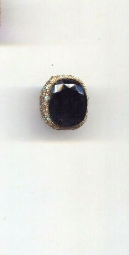 KENNETH LANE BLACK AND MULTI  RING