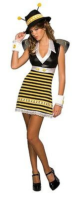 Drama Queens: Gangster Killa Killer Bee Sexy Teen Junior Costume 2-6 - Drama Queen Costume