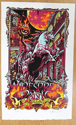 2013 WIDESPREAD PANIC NEW ORLEANS HALLOWEEN CONCERT POSTER10/31 11/2 MASTHAY - Dmb Halloween