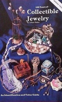 100 YEARS OF COLLECTIBLE JEWELRY VALUE GUIDE BOOK HAT PIN++