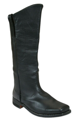 Cavalry Boots - Sizes 5-15 - Black Leather - Highest Quality - Civil War