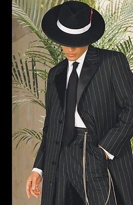 Silver Zoot Suit Gangster Chain Swing USA Nice Retail Quality  (Zoot Suit Chain)