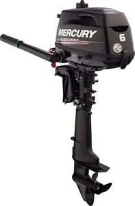MERCURY-MARINER-6-hp-Outboard-Boat-Engine-Motor-Long-Shaft-Four-4-stroke-NEW