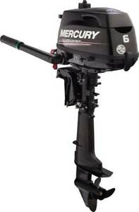 """6hp Mercury Outboard 4 Stroke """"Brand New With 6yrs Warranty"""" Coorparoo Brisbane South East Preview"""