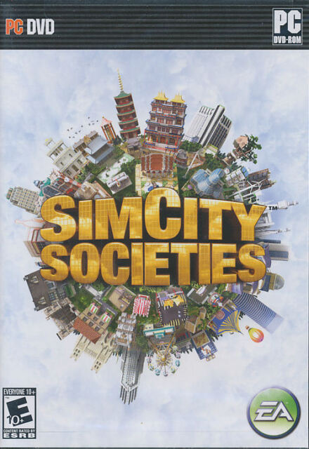 SIM CITY SOCIETIES SimCity Society PC Game NEW Vista OK