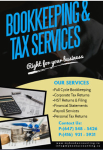 Bookkeeping, Accounting & Tax Services