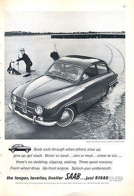 1966 SAAB 2-Door PRINT AD