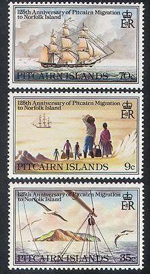 Pitcairn Islands 1981 Sailing Ships/Boats/Nautical/Transport 3v set (n40260)