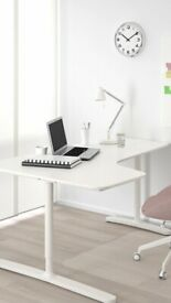 IKEA Bekant White Home Office Desk