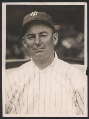 1919 Orig 1St Gen Press Photo   Duffy Lewis  Yankees