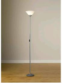 Argos Home Uplighter Floor Lamp Silver