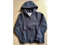 LACOSTE BOYS HOODIE GREAT CONDITION 100% GENUINE ITEM