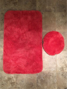 Bath Mat and Seat Cover