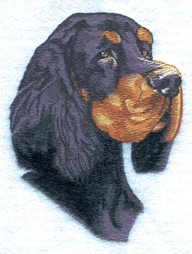 Embroidered Short-Sleeved T-Shirt - Gordon Setter BT2623 Sizes S - XXL
