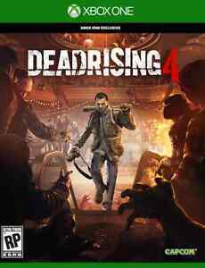 Dead Rising 4 (Xbox One, NEW/SEALED)