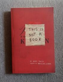 Book This Is Not A Book By Keri Smith As New Condition