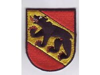 Bern Wappen Patch,Coat of Arms,Schweiz,Suisse,Svizzera,Aufnäher,Aufbügler