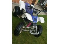 Yamaha Blaster 200cc quad 2 stroke swaps for farm quad