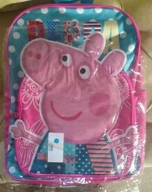 New pepa pig nursery bag