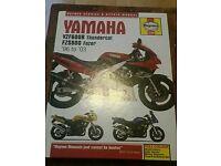 Yamaha thundercat & fazer manual