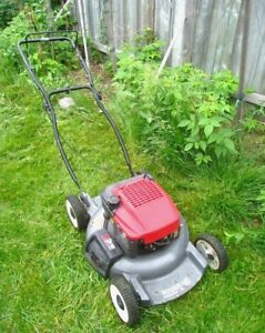 Aluminum 5 HP 4-stroke 3-in-1 Craftsman Gas Lawnmower,very quite