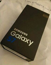 Brand new unopened s7 on ee not sure if unlocked unwanted upgrade still sealed not been out the box