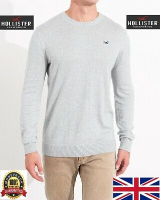 Hollister  Icon Sweater Sweatshirt  jersey top Shirt Men Medium / Large
