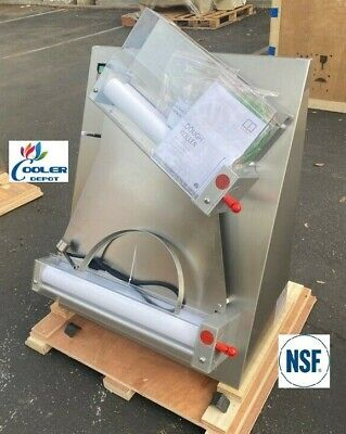 New 18 Pizza Dough Double Roller Sheeter Noodle Pasta Machine Two Stage Nsf